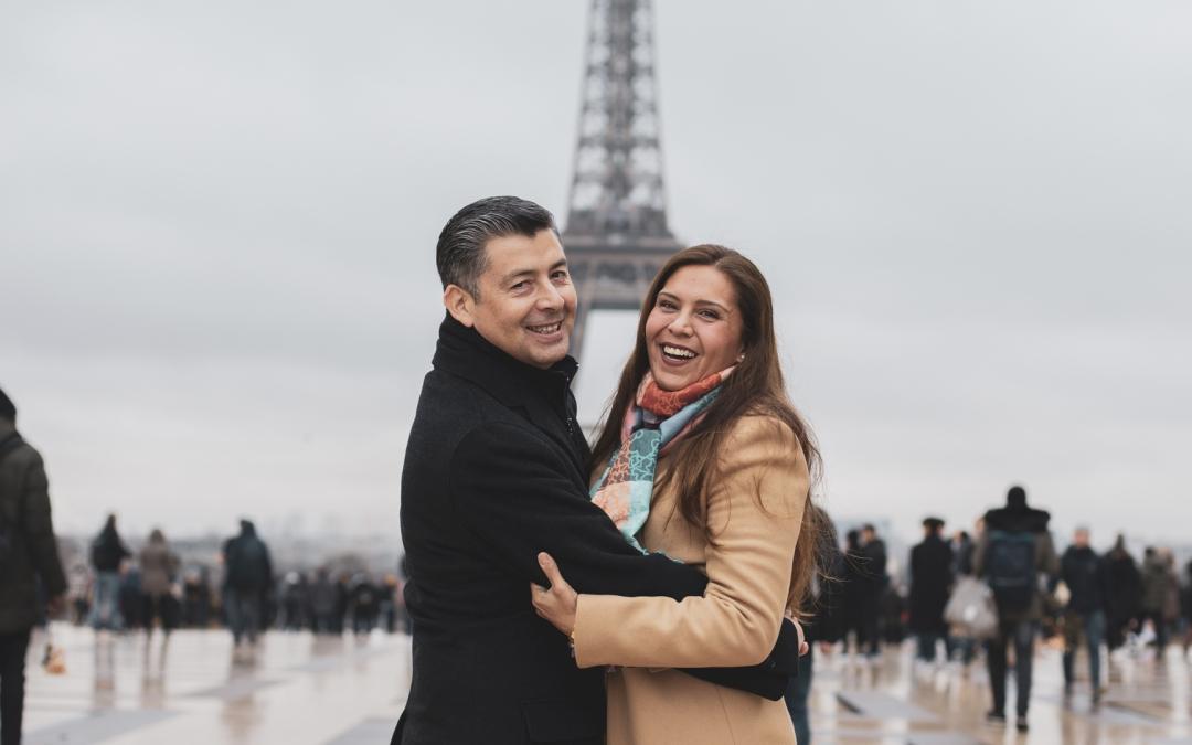 Sesión familiar en París
