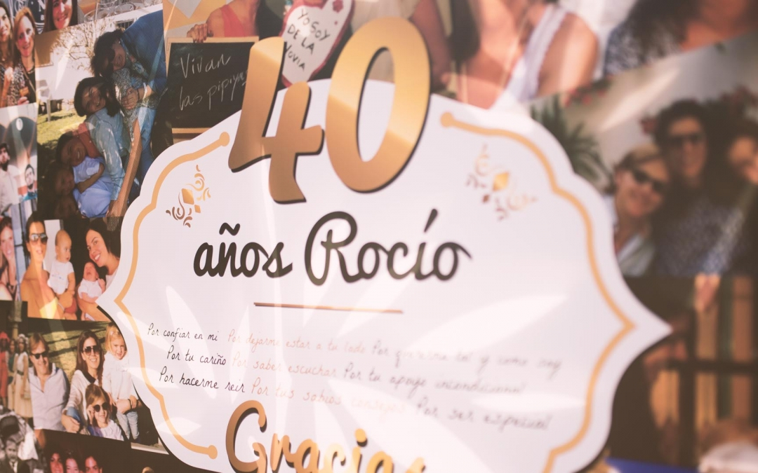 40 Cumpleaños Rocío